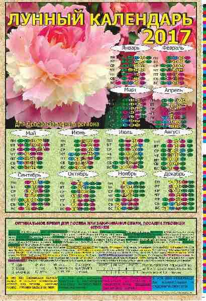 Лунный календарь астра